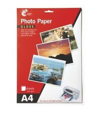 Chiltern Wove A4 Gloss Photo Paper 8 Sheets 235 gsm For All Inkjet Printers