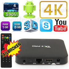 Best 4K TV BOX TX3 PRO 4K S905x Quad Core Android6.0 smart TV Box Media Player