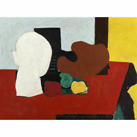 Gorky Still Life Red Yellow Abstract Painting Extra Large Art Poster