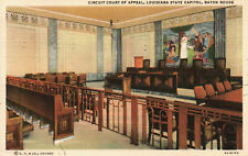 Baton Rouge, Louisiana, State Capitol, Circuit Court of Appeals - Postcard (Y14)