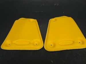 RARE NEW SKI-DOO YLW KNEE PAD KIT, FITS XP and XS CHASSIS SLEDS  #8600200050