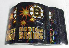 Lot of (100) Boston Bruins NHL Hockey Foil Logo Stickers