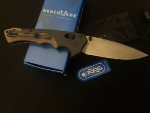 FIRST PRODUCTION Benchmade 615 Mini Rukus Knife -Blackwood -Collection -USA/mb