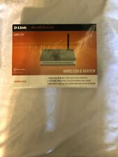 D-Link DSL-2640B 54 Mbps 4-Port 10/100 Wireless G Router