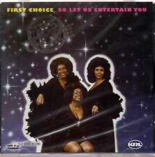 FIRST CHOICE So Let Us Entertain You NEW & SEALED SOUL FUNK DISCO CD (KRL)