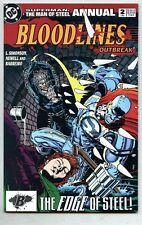 Superman The Man Of Steel Annual #2-1993 nm- Steel
