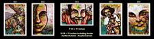 5 Original Art Arte Canvas Paintings Cuban Artist Cuba LEONARDO RUBIO BRIDON
