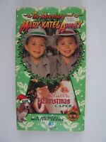 Adventures of Mary-Kate & Ashley The Case of the Christmas Caper VHS