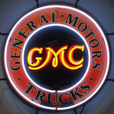 General Motors Trucks Neon Sign - Gmc - Chevrolet - Chevy - Dealership - Sierra