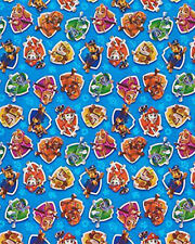 PAW PATROL WRAPPING PAPER ROLL GIFT WRAP ANY OCCASION 20 SQ. FEET