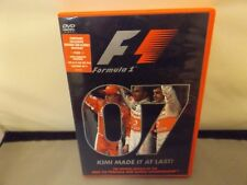 2007 FORMULA ONE WORLD CHAMPIONSHIP OFFICIAL REVIEW - REGION 2 DVD - UK PAL - F1