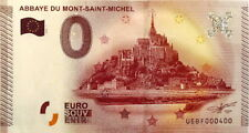 BILLET 0 EURO  ABBAYE DU MONT SAINT MICHEL 2015