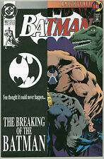 BATMAN #497 DC Comics High Grade 1st Print Near Mint to NM+ BANE BREAKING OF THE