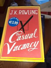 THE CASUAL VACANCY - J.K ROWLING HARDBACK