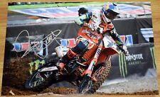 "RYAN DUNGEY #1 Signed 12x18"" Fox KTM Photo #9 - 4x SX Champion MX"