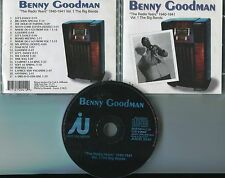 Benny Goodman cd THE RADIO YEARS 1940-1941 Vol. 1 THE BIG BANDS © Denmark 1999