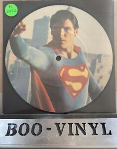 "John Williams 'Theme From Superman' 1978 7"" Vinyl Picture Disc *Mint**RARE*"