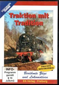 DVD Eisenbahn Kurier: Traktion mit Tradition / Berühmte Züge und Loks / 58 Min