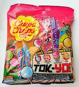 CHUPA CHUPS TOKYO Japan Inspired Flavors Assorted Pack Candy Sweets 120g 4.2oz