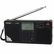 Tecsun PL-398MP DSP Radio & MP3 Player FM Stereo/MW/SW/LW Receiver Dual Speaker