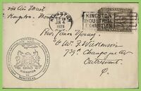 Canada 1928 Flight cover, Kingston to Montreal cachet