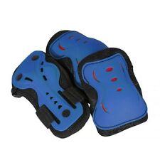 Protections bleus pour skate, roller et trottinette