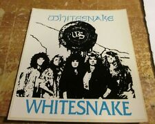 Whitesnake Sticker Ws Vintage New From Late 80'S Heavy Metal Wow