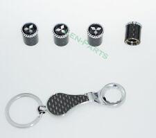 Schlüsselbund Diebstahlschutz Reifen Ventil Stem Staubkappen für Mitsubishi