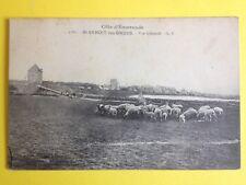 cpa Bretagne St BENOIT des ONDES Moutons Pré Salés, Henry DELAGE Adjudant 47e RI