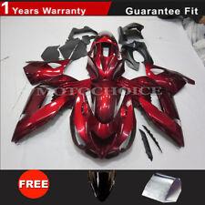 Fairing Kit For Kawasaki Ninja ZX14R 2006-11 ABS Injection Bodywork Red UV Coat
