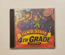 Jump Start 4th Grade Adventures (Vintage PC CD-ROM, 1999)