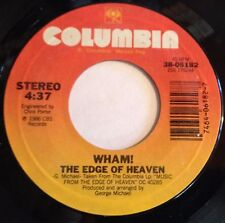 Wham! George Michael 45 The Edge Of Heaven / Blue (Live In China)  EX