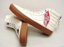Vans SK8 Hi Reissue Zip Hiking White Gum VN0004KYJSH Men's Size 12