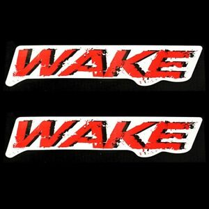 Sea Doo Boat Decal 204902055 | Wake Red Black White 12 1/2 x 2 5/8 Inch