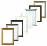Oslo Shabby Chic Range  Picture Frame Photo Frame Poster Display, Various Sizes