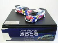 Citroen C4 WRC No. 1 und No. 2 - set Rally Catalunya 2009