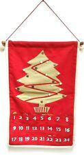 restoration hardware hanging advent christmas calendar