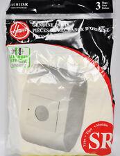 Hoover Duros Type SR Allergen Filtration Media Paper Vacuum Bags 401011SR