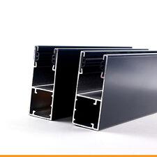 ALU Führungsschiene Schiene Rolladen Rollladen Rollo 66x27mm für Maxi-Profile