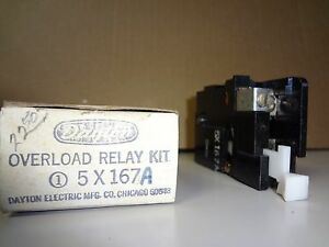DAYTON 5X167A OVERLOAD RELAY KIT NEW IN THE BOX