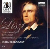 Liszt: Piano Concerto No.1 in E flat ma, Boris Berezovsky, Audio CD, New, FREE &