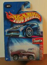 New in package 2004 Hot Wheels First Edition #71 Tooned Camaro Z28 Brown Variant