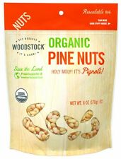 Woodstock Organic PINE NUTS Vegan Non-GMO - 6 oz