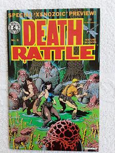 Death Rattle #8 (Dec 1986, Kitchen Sink) Mature Readers FN 6.0