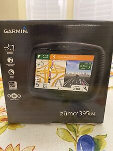 Garmin Zumo 395LM GPS for motorcycle with built In Bluetooth.