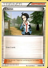 4x Pokemon NOBLE VICTORIES CHEREN 91/98 UNCOMMON TRAINER CARD NM