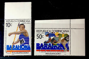 Dominican Republic Stamps Sc C329-C330 MNH