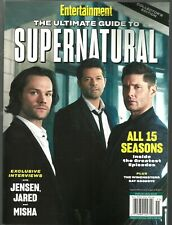 ENTERTAINMENT WEEKLY-2020-THE ULTIMATE GUIDE TO SUPERNATURAL-JENSEN ACKLES-NO ML