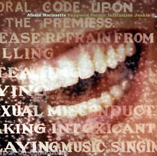 Alanis Morissette 1998 Infatuation Junkies Promo Poster Original