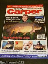 CRAFTY CARPER - BEST ATTRACTOR BAITS - JAN 2004